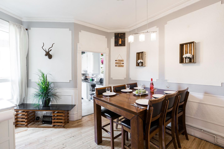 Château du Plateau: salle à manger spacieuse
