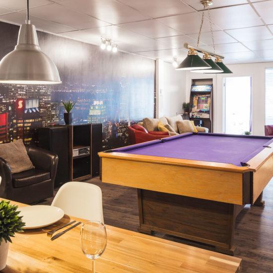 Entertainer: appartement de style loft