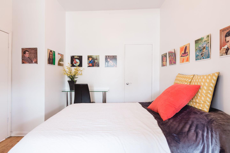 Vinyle: chambre 3 avec espace espace de travail
