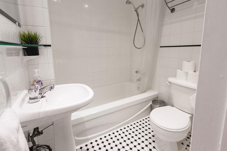 Vinyle: salle de bain