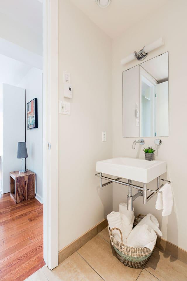 Suite 101: salle de bain
