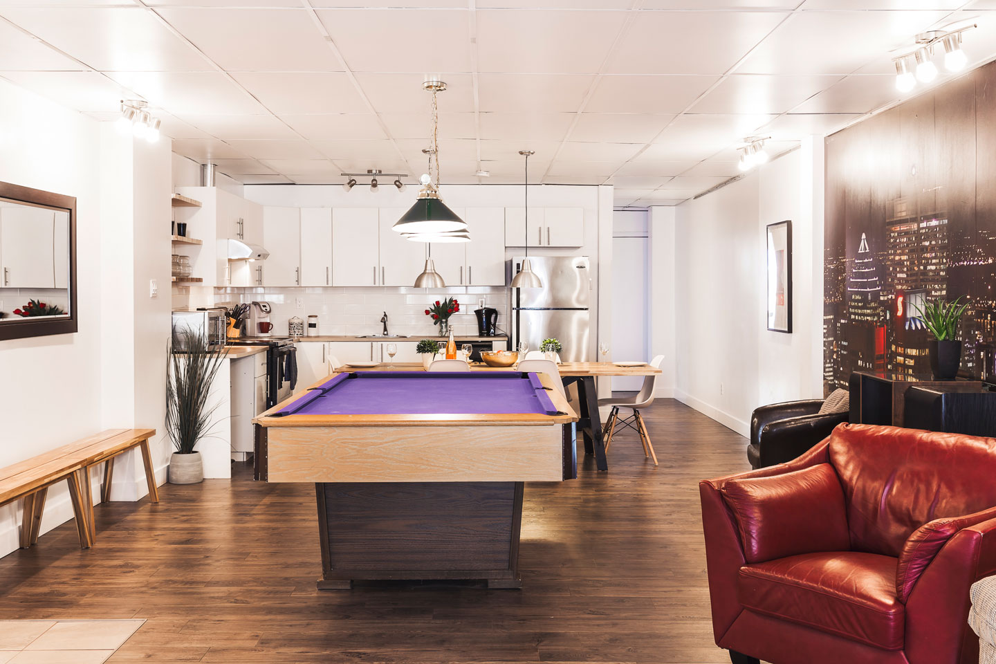 Entertainer: living area
