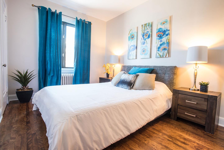 Golden kiss: 3 bedrooms with comfortable memory foam mattresses