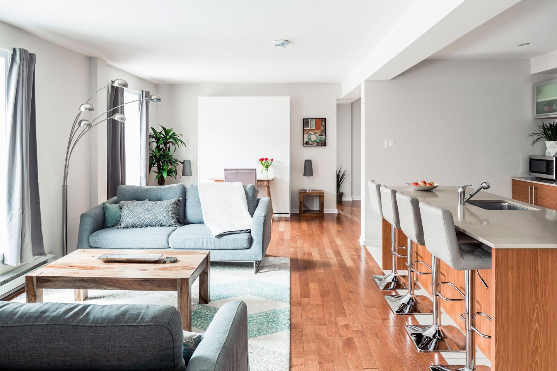 Suite 101: open area