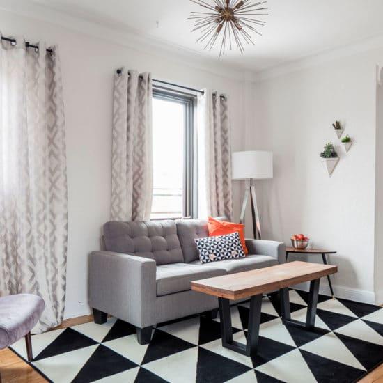 Scandinavian kiss: living room, scandinavian style interior design